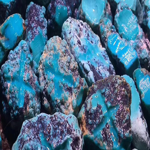 Turquoise Rough Material
