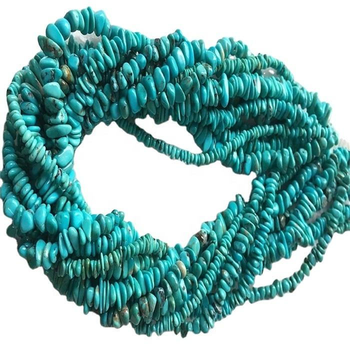 turquoise gemstone rough turquoise chip beads natural gemstone chip beads