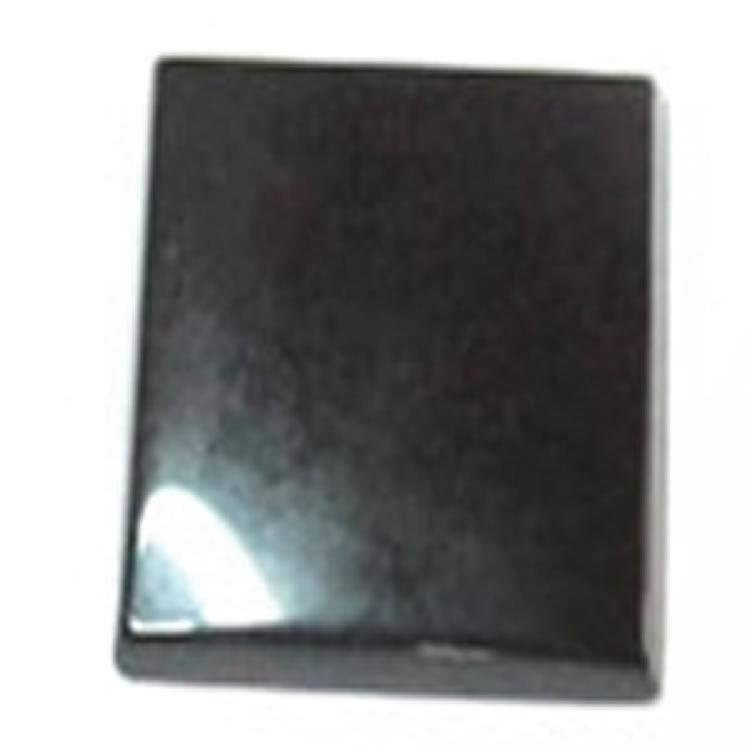 Black Onyx Gemstone Cabochons Natural Square Flat Onyx Various Sizes