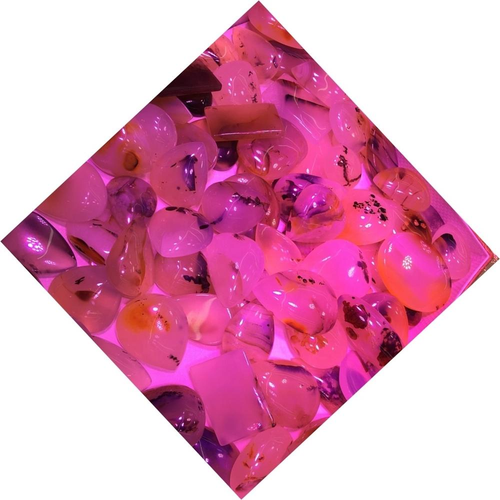 Cherry Blossom Agate Gemstone Cabochons Cherry Blossom Agate Loose Gemstone Cabochon For Jewelry