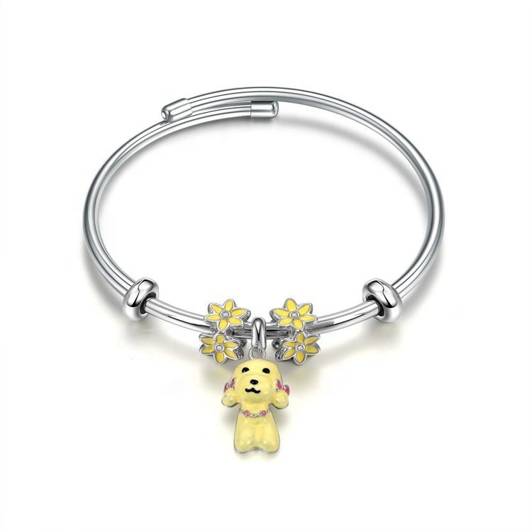 famous brands sterliing silver bracelet