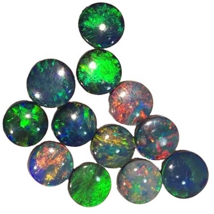 Natural Ethiopian Opal Cabochon jewelry