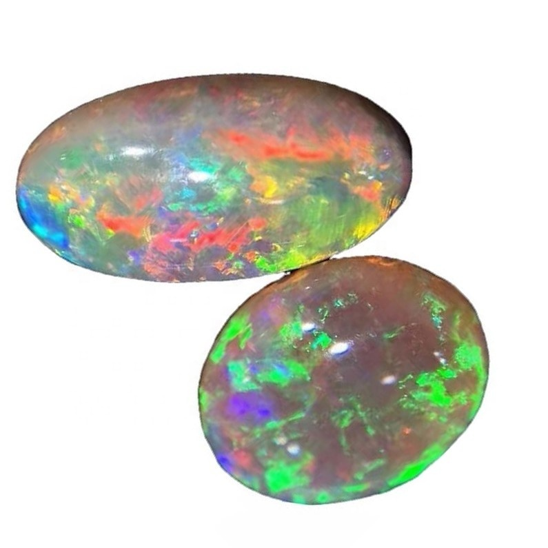Ethiopian Opal NATURAL Color changing Gemstone Cabochons