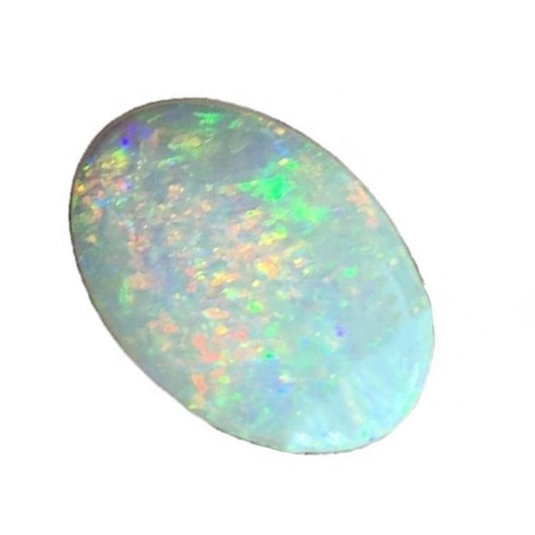 Natural Ethiopian opal cabochon