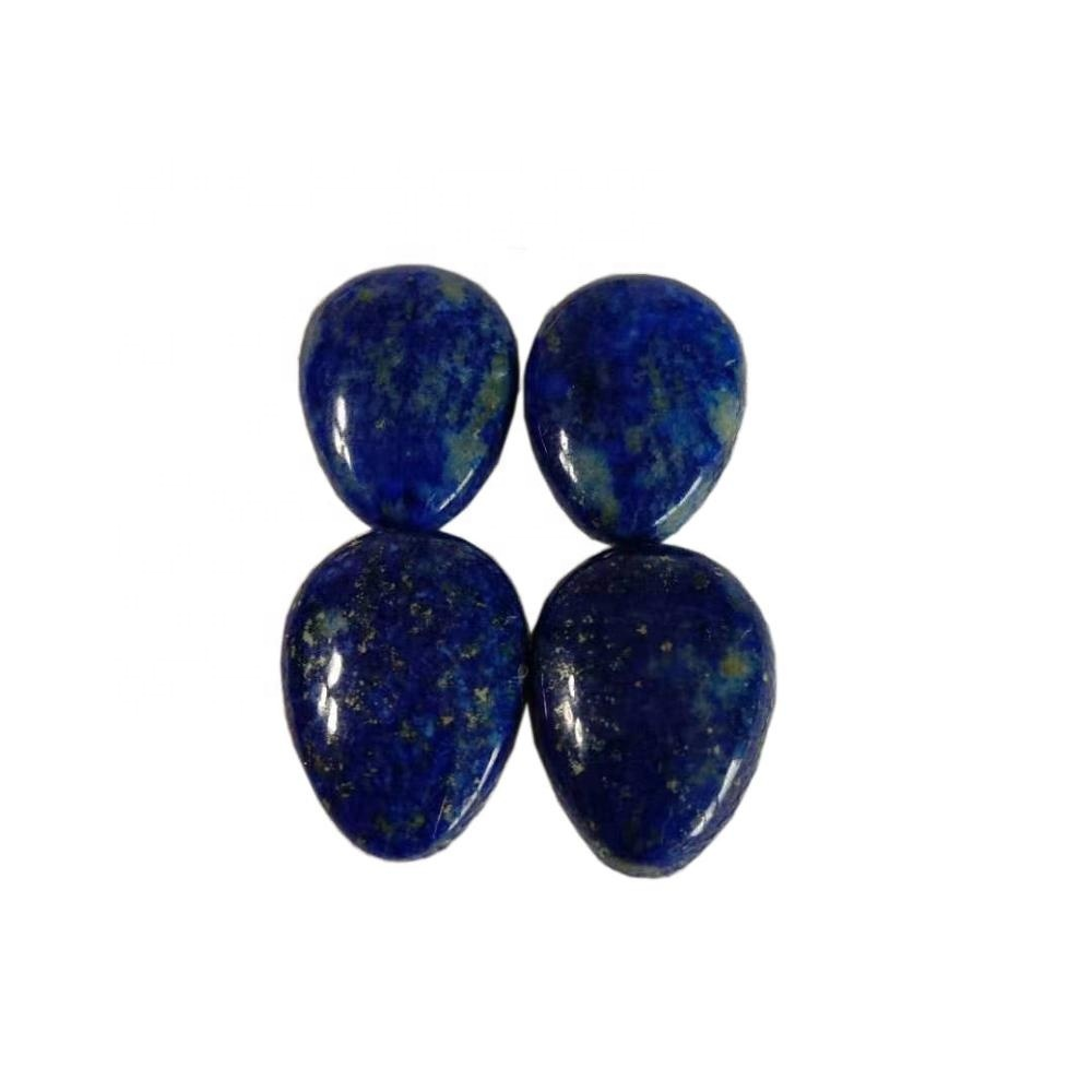 Lapis  pear  cabochon 3A Quality Natural Lapis Smooth Pear Cabochon Gemstone