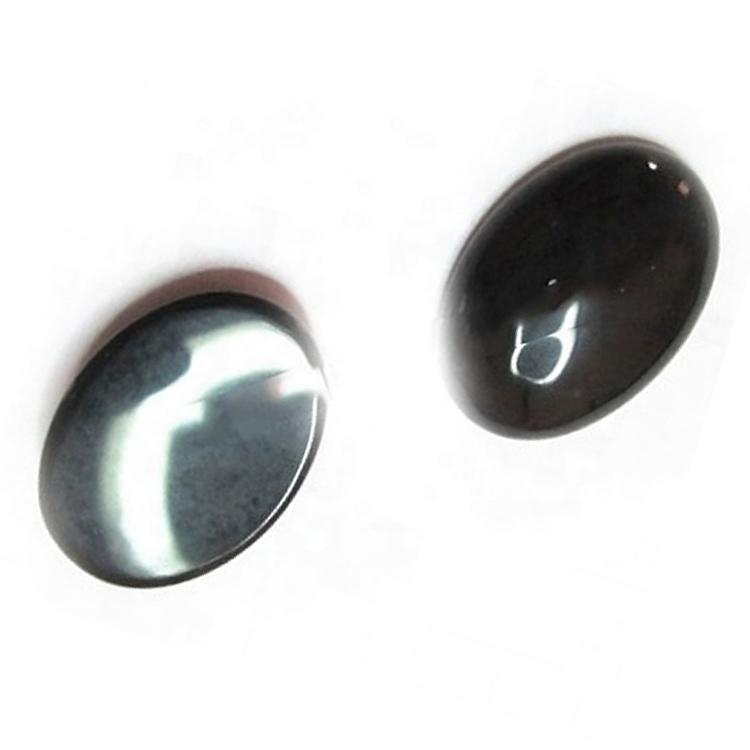 Best Quality Black Onyx Smooth Cabochons Oval Natural Onyx Cabochon Various Sizes