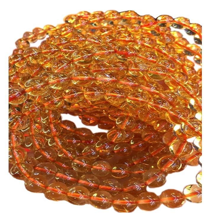 Citrine Bracelets Natural Stone Jewelry Customizable bracelets/gift