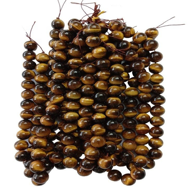 Natural Tiger's Eye 4mm 6mm 8mm 10mm Round Beads High Quality Smooth Polished 16