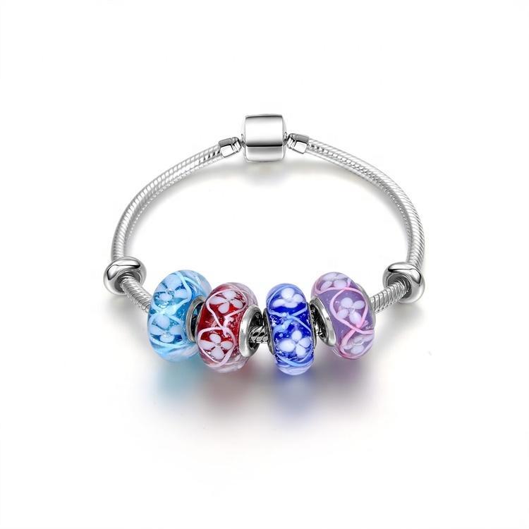 2021 fashion design  925 silver bracelet