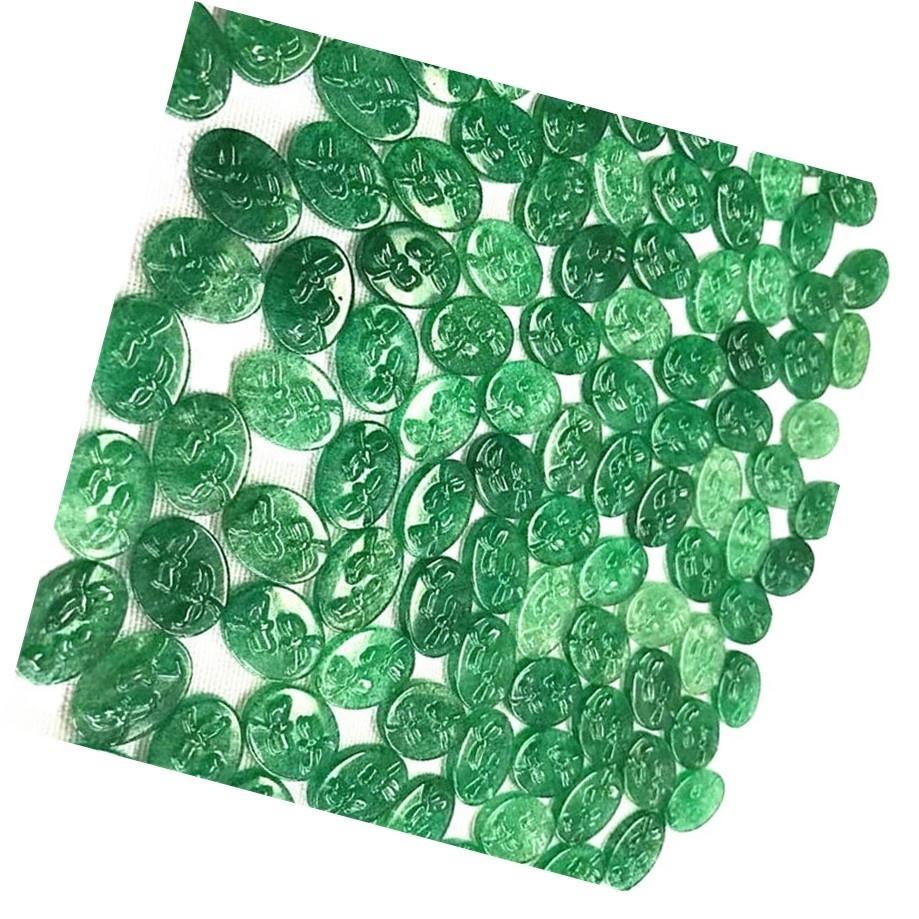 Natural Green Rutilated Quartz Carving pendent Green Rutilated Quartz loose gemstone