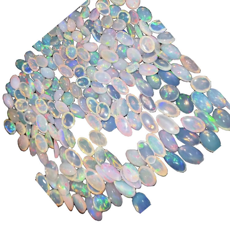 Chinese naturally Opal Stone  Cabochon