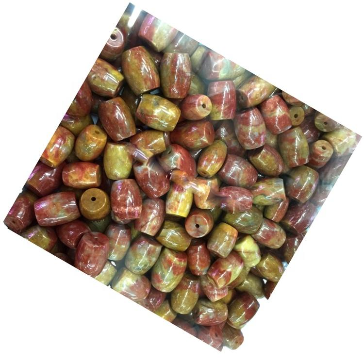 Warring states period Agate Drum beads mass quantity make wholesale