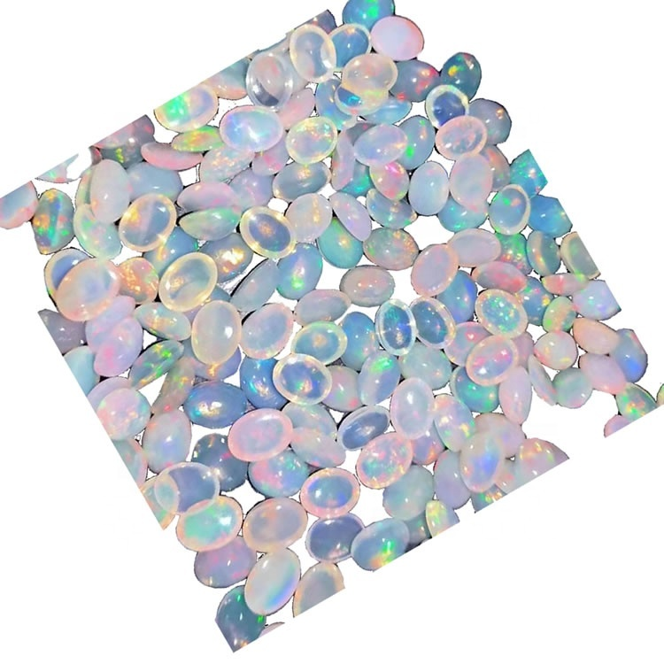 6*6 oval AAA quality opal cabochon loose Gemstone
