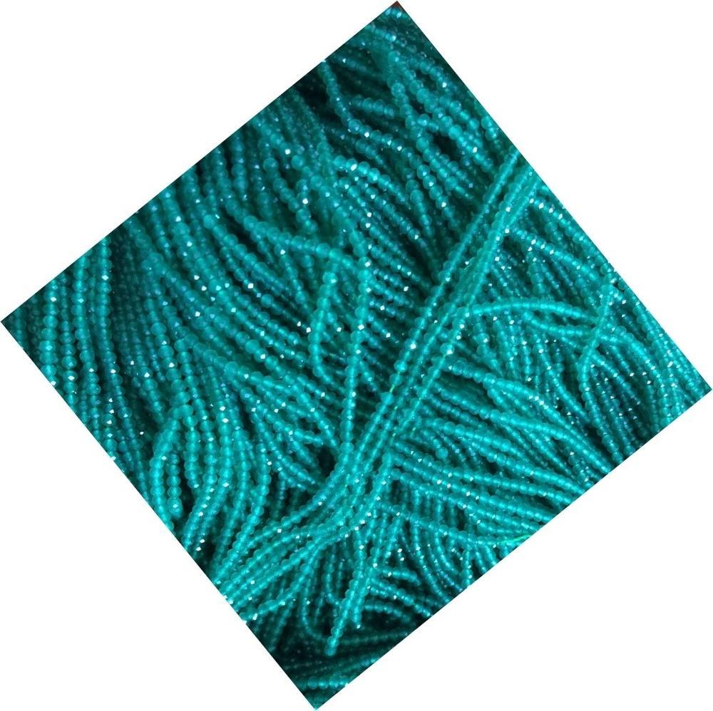 Naturally Apatite round beads make wholesale Genuine Natural Blue Apatite Loose Beads