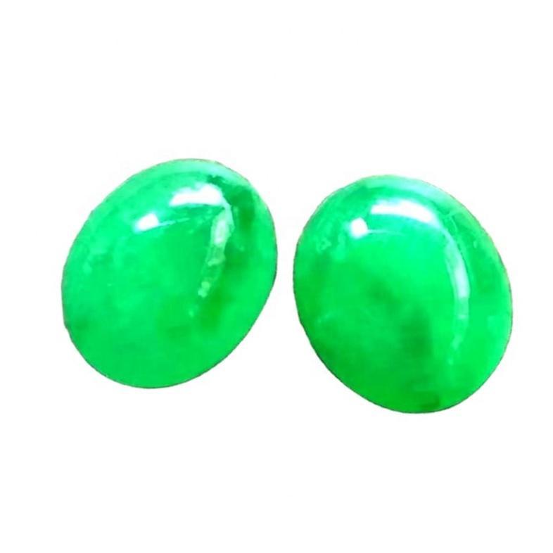100% Natural Emerald Oval Cabochon make wholesale