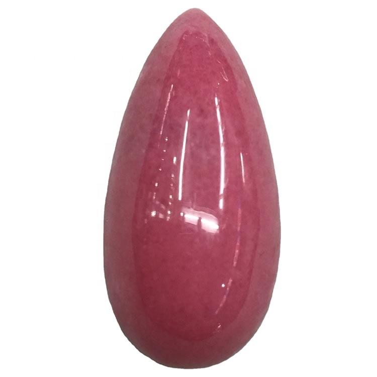 Rhodonite Pear Shape Gemstone Natural Rhodonite Cabochon 100% Guaranteed Original Stone