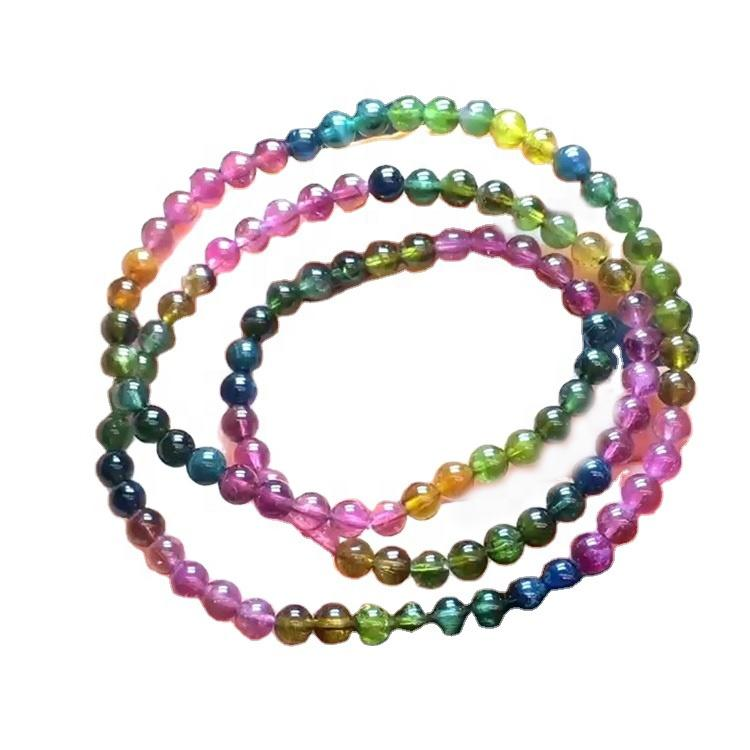 Natural Tourmaline Water Drops Loose Beads DIY Bracelet Necklace Jewelry Accessories Natural Crystal
