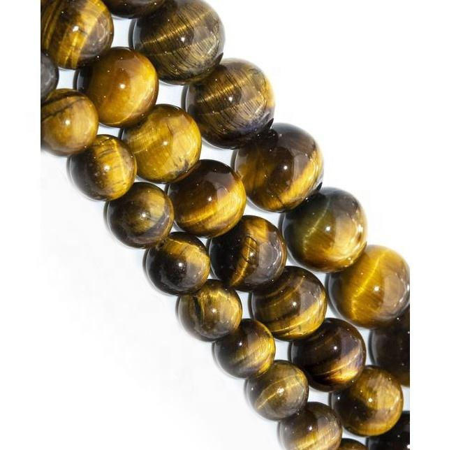 Natural Stone Beads Tiger Eye 4mm 6mm 8mm Round Beads