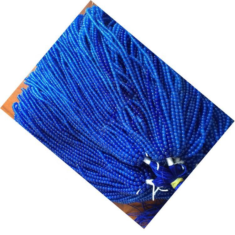 different size shape gemstone Sapphire round beads make wholesale