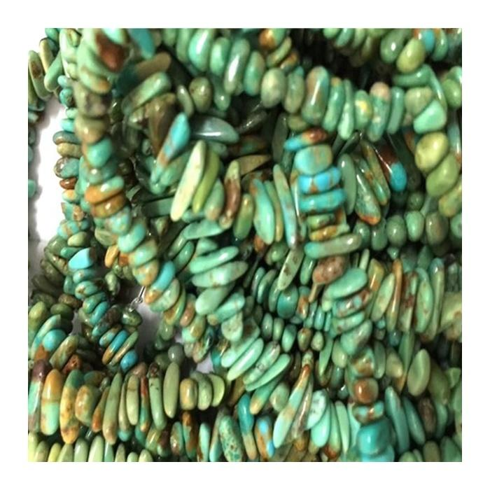 turquoise with black line Turquoise Chip Bead Gemstone Natural Turquoise Natural Stone Beads Chips