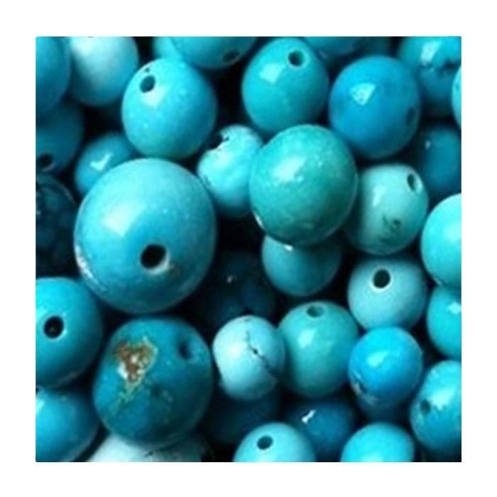 Turquoise round beads making jewellery Turquoise Beads Round