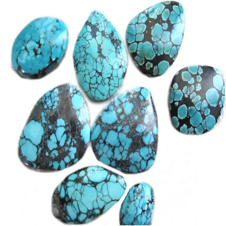 Turquoise Cabochon Natural Colours Cut & Polished South West Turquoise  Arizona Mexico Crafts  FREE WORLDWIDE SHIPPING