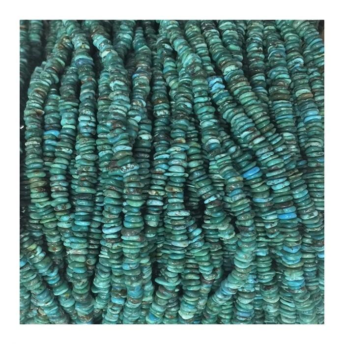 Naturally turquoise chips beads Turquoise Beads