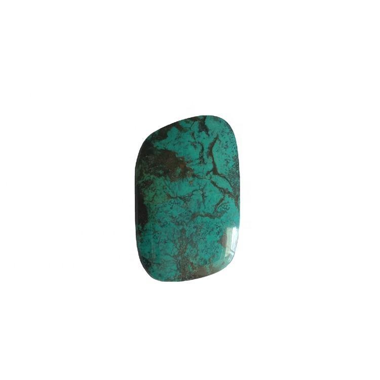 Mexican OVAL naturally hubei spider-web turquoise cabochons jewellery