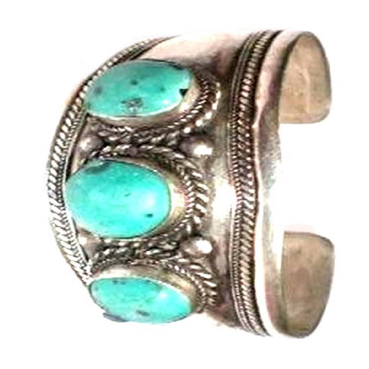 Turquoise Bracelet Handmade Bangle Cuff Hot sell Natural Turquoise Gemstone Bangle jewelry
