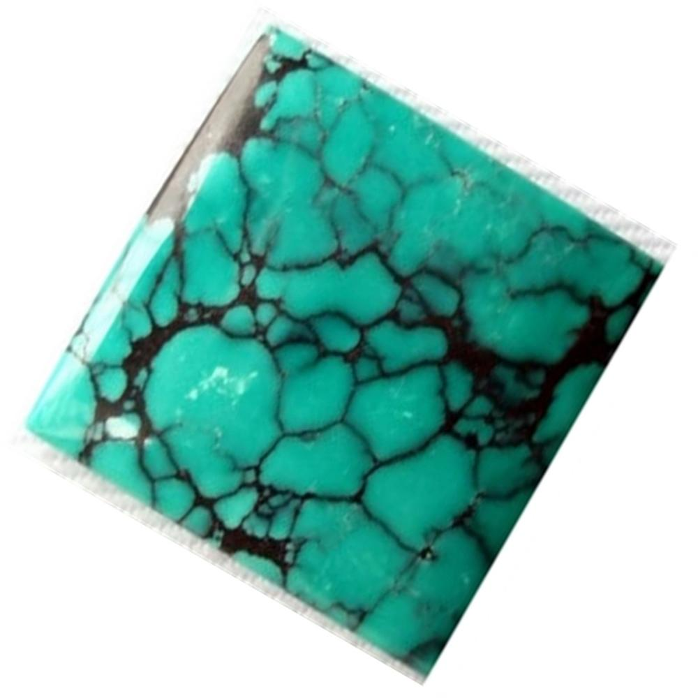 Fantastic Top Grade Quality 100% Natural Turquoise Cushion Shape Cabochon Loose Gemstone For Making Jewelry
