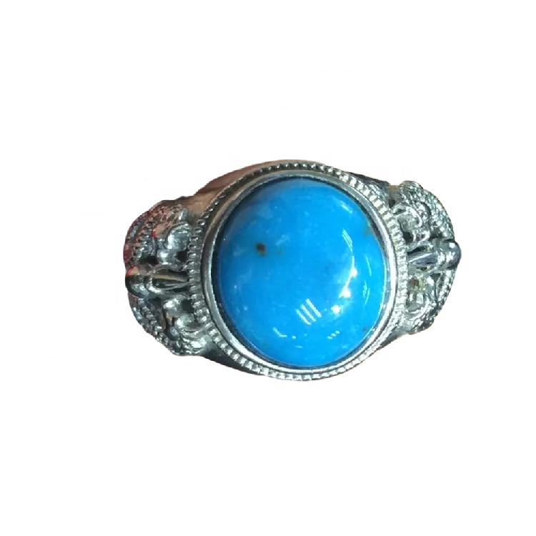 Yellow gold rings and turquoise jewellery turquoise rings