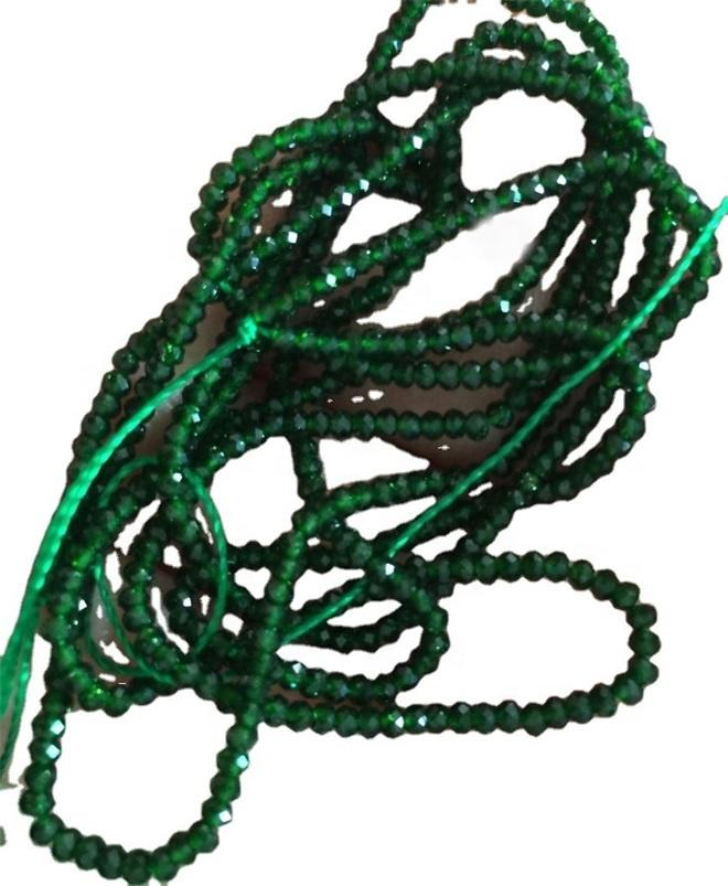 Emerald Jade faceted beads Faceted Round Green Jade beads Green Gemstone Beads