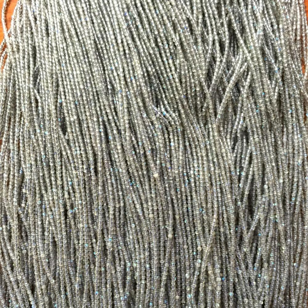 1.8mm to 20mm natural gemstone Labradorite round Beads cheaper price factory manufacture