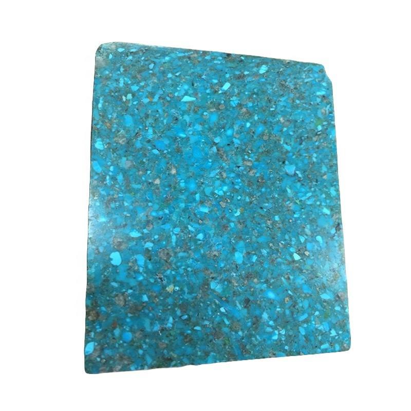 natural turquoise block
