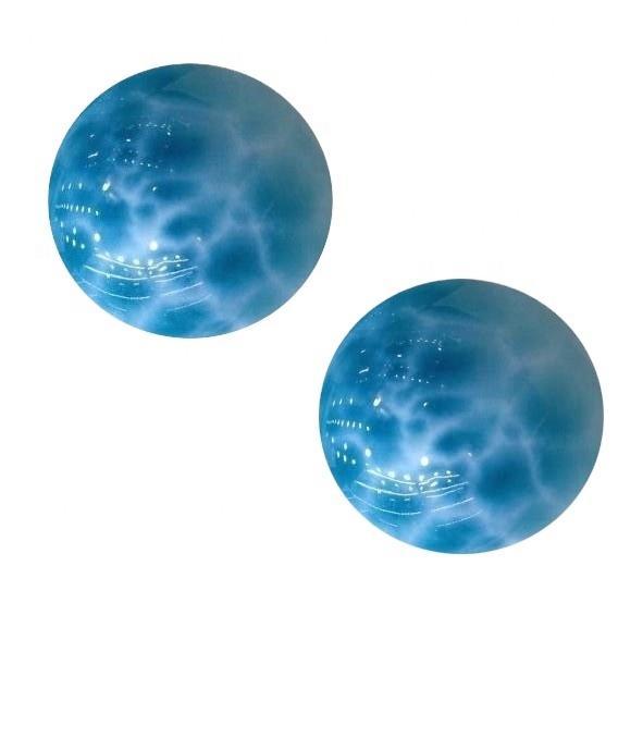 wholesale 6mm 8mm 10mm  natural  larimar  smooth  Gemstone round beads