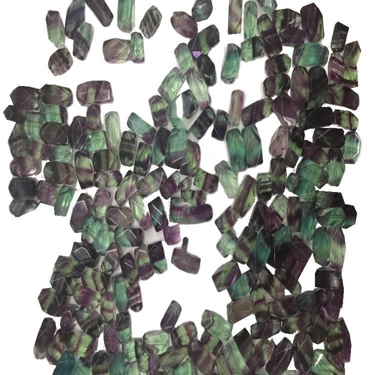 Green Fluorite Pyramid Rectangle Gemstone Wholesale Gemstone Jewelry Making Gemstone