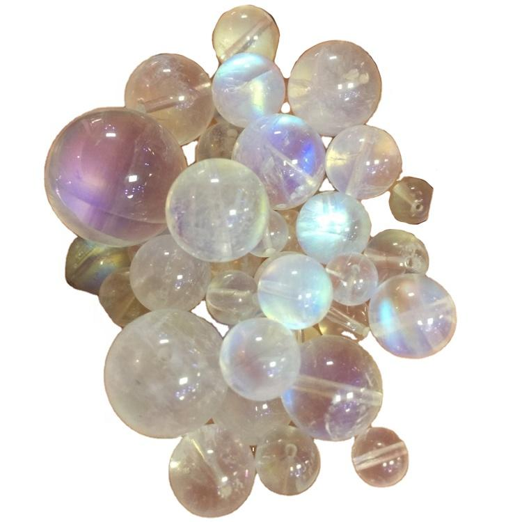 wholesale natural and high quality moonstone round beads