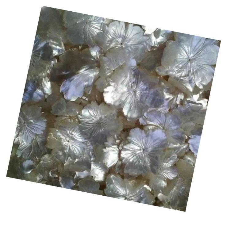 Shell carved pineapple beads jewelry/Fox/Flower shape jewelry