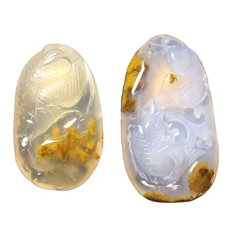 carved flower agate bead wholesale