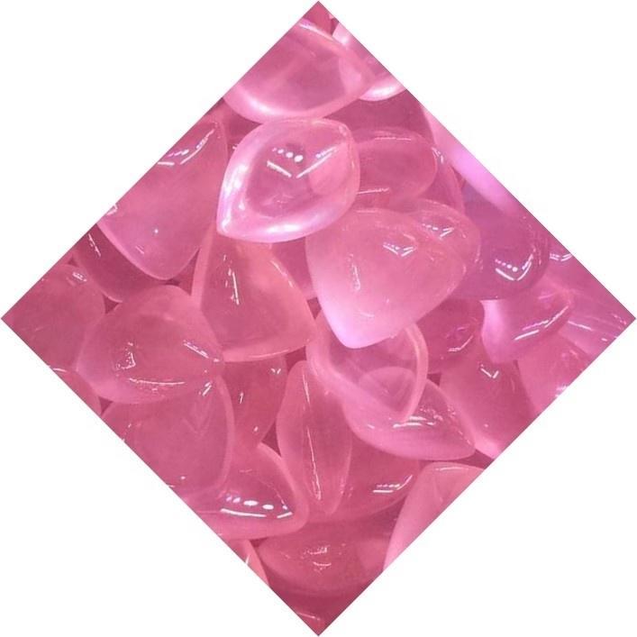 Bulk Wholesale Cheap Pink Rose Quartz Cabochon