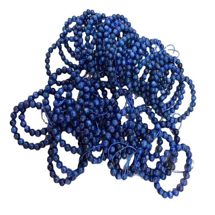 Kyanite gemstone bracelet/Handmade jewellery/Customizable bracelet