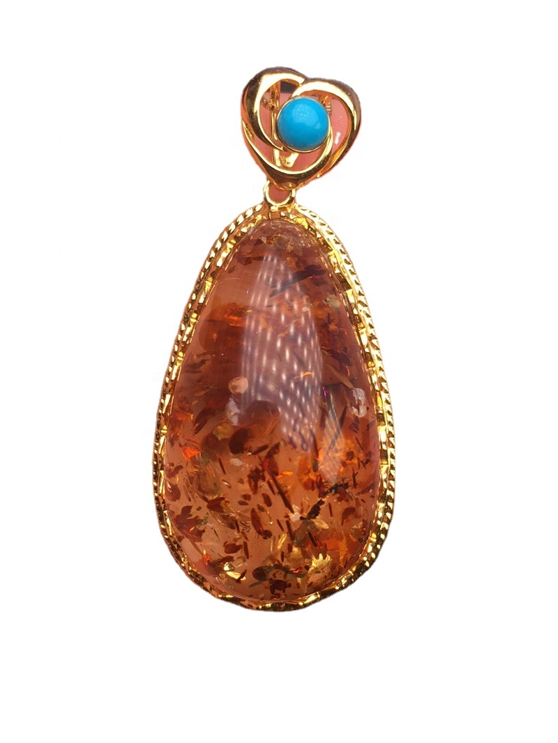 Natural brown amber.Amber necklace.Honey amber jewelry