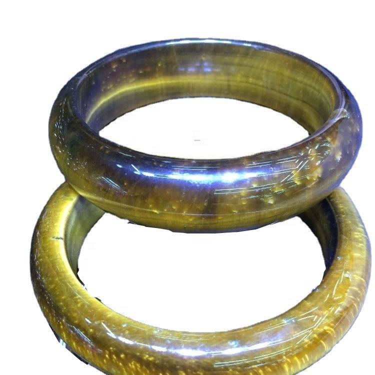 Tiger Eye Other Shape Bracelets Bangles Men Natural Tiger Eye Gemstone Bracelet  Natural Stone Golden Brown Stone