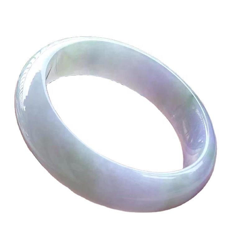 Gemstone emerald cuff bracelet bangle for sale 100% High Quality Natural Myanmar  Jade Bracelets