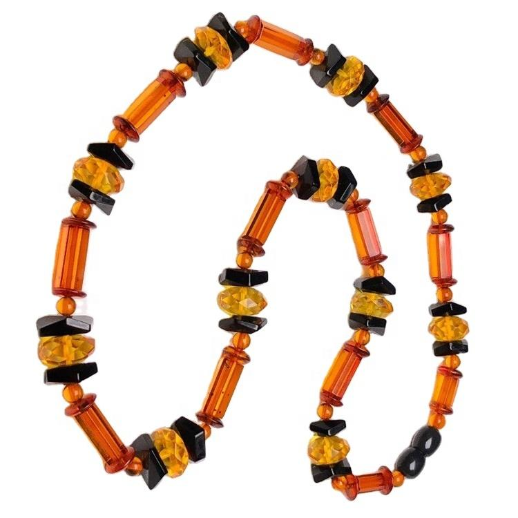 2021 higher quality amber beads make necklace jewelry