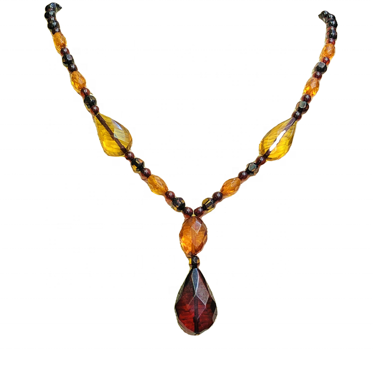 wholesale  natural amber teething necklaces