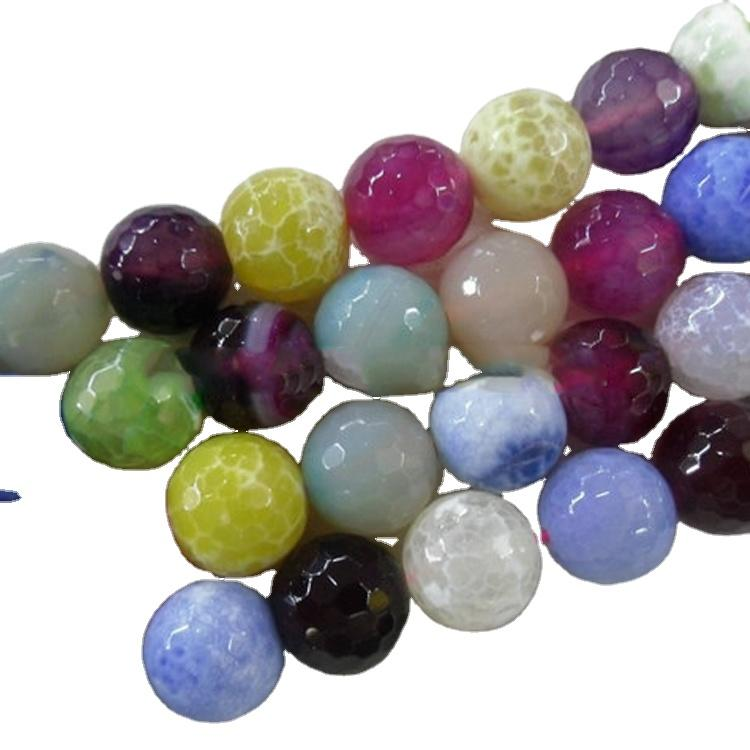 Top fashion design natural stone agate different size and shapr bead cutting