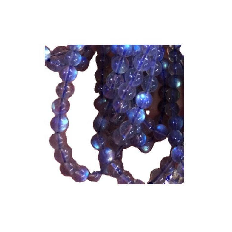 labradorite Round Beaded Bracelet Crystal Jewelry Gemstone Bracelet Healing Crystals and Stone Crystal Bracelet