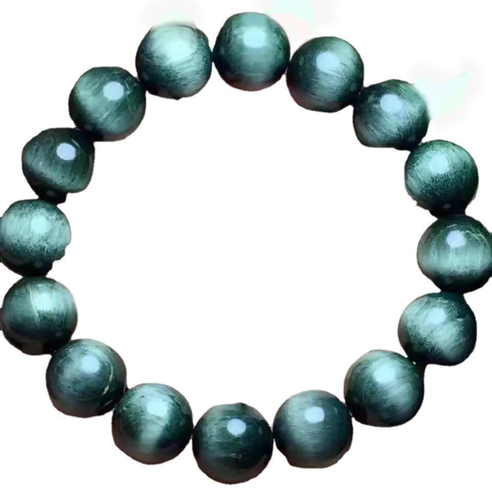 Hornblende amphibole round beads bracelets jewelry Natural Gemstone Beads