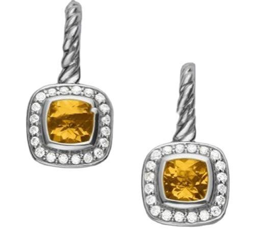 925 sterling silver crystal ball stud earrings